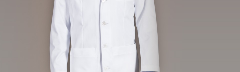 men's lab coat