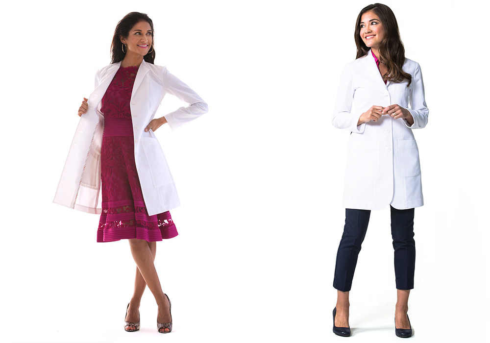 women lab coats