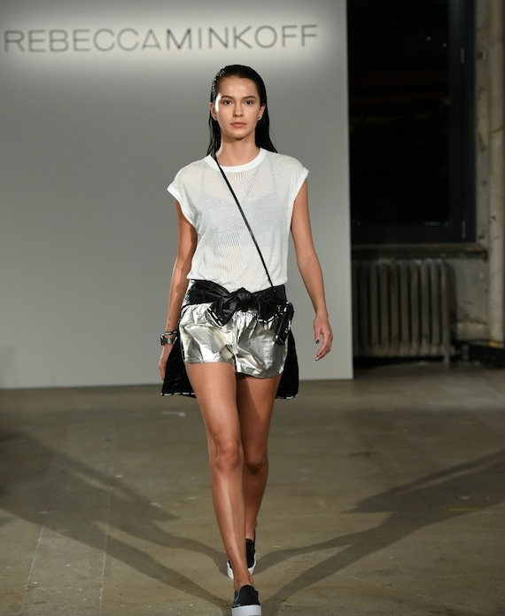 Activewear on the Rebecca Minkoff runway