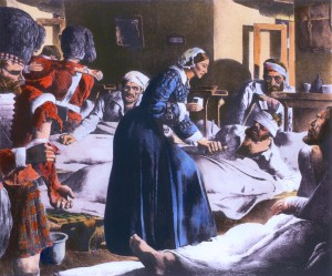 Florence Nightingale, the first modern nurse