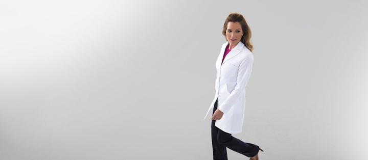 Miranda B Lab Coat