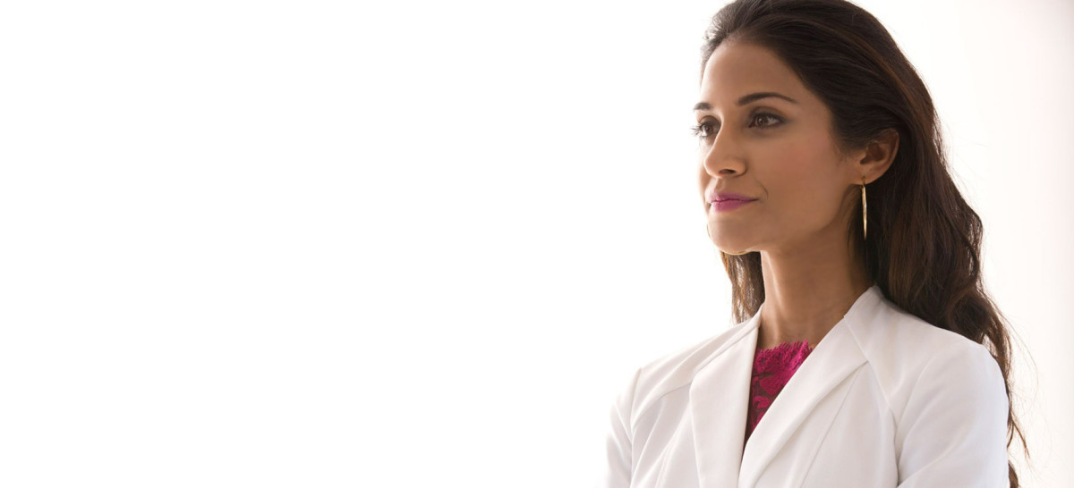 Professional Women Lab Coat