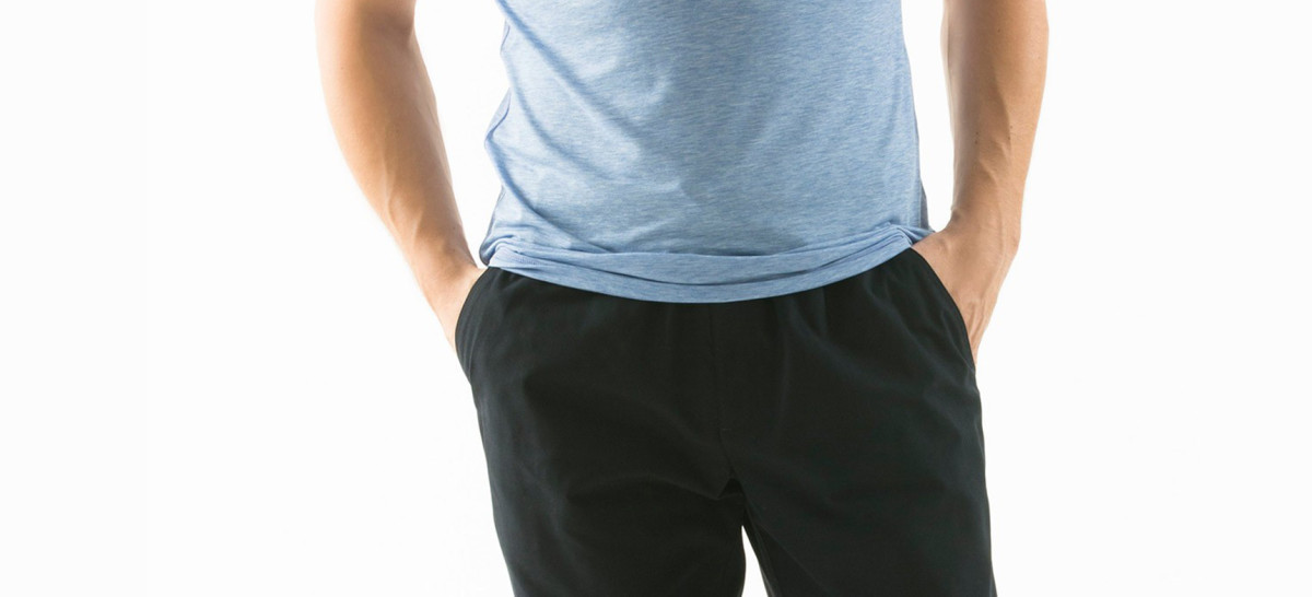 Scrub Pants Elastic Waistband