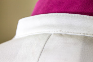 Lab Coat Collar Detail