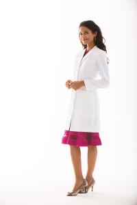 Flattering Feminine Lab Coat