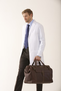 Men's Fitted Lab Coat