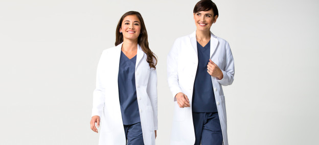 fashionable-womens-lab-coats
