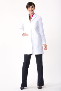 Flattering Womens Lab Coat Callia M