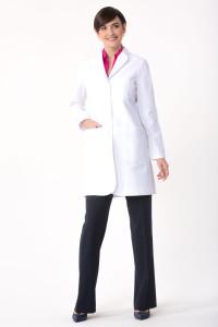 Flattering Womens Lab Coat Callia M