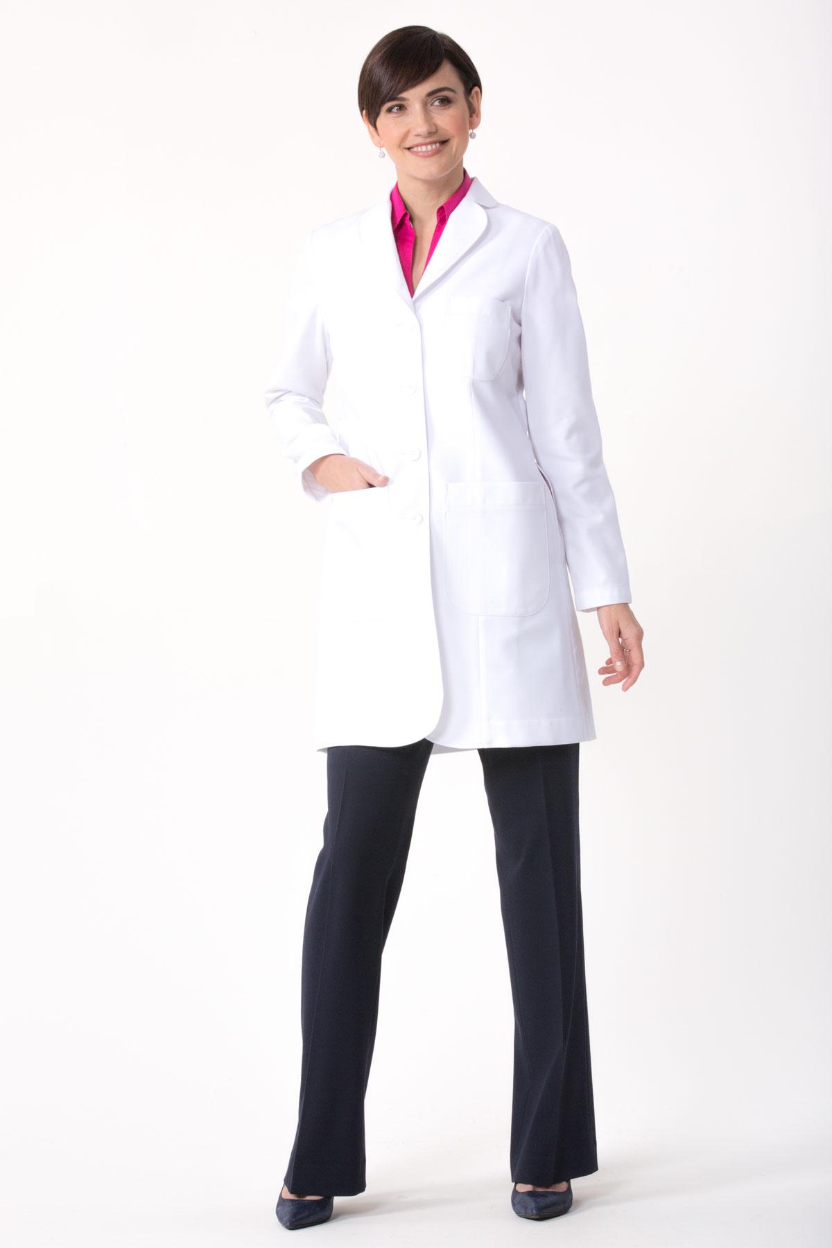 085732d2b8e Flattering Womens Lab Coat Callia M
