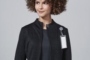 womens scrub jacket