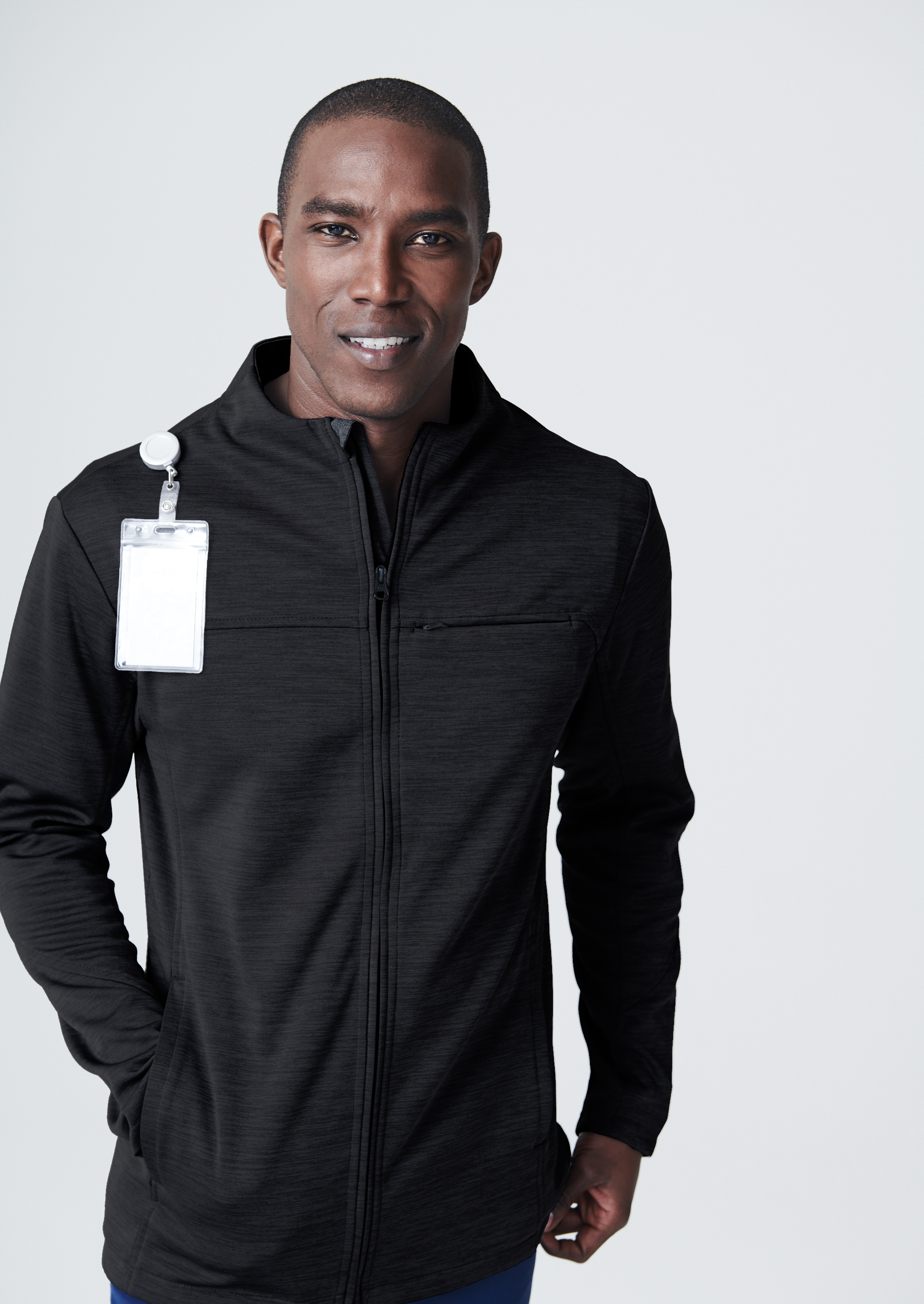 c12b0debd35 The scrub jacket fabric is comfortable and lightweight, but keeps you warm
